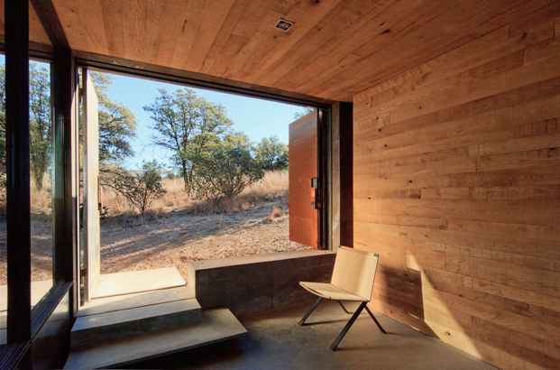 Casa Caldera dust refugio en Mexico diariodesign