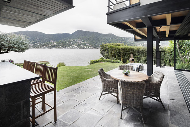terraza original Casa  en mexico de studio Metodo diariodesign