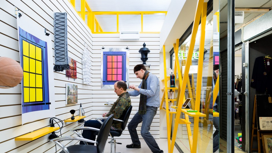 DKUK peluqueria y galeria de arte en Londres