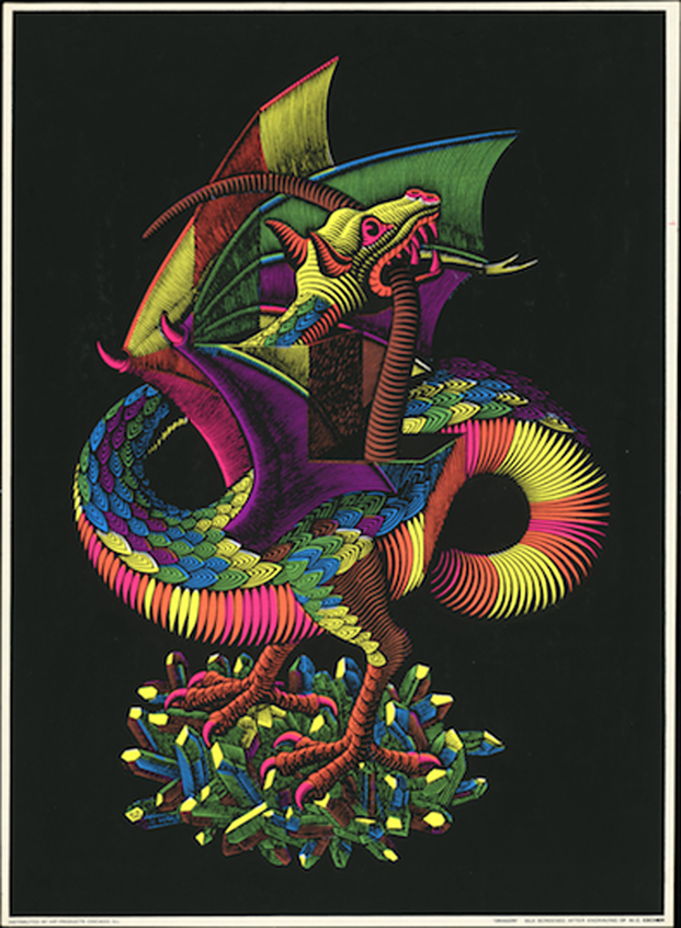 Dragón, Hip Products Chicago, 1970