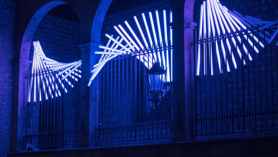 Festival Llum BCN IED Barcelona Fluvia