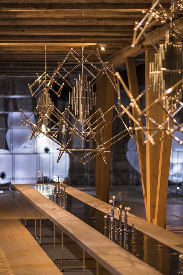 muebles de oficina Instalación USM en Designers Saturday diariodesing