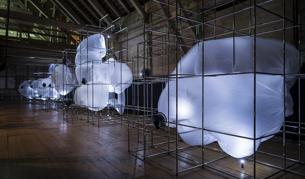 muebles de oficina Instalación USM en Designers Saturday diariodesing (2)