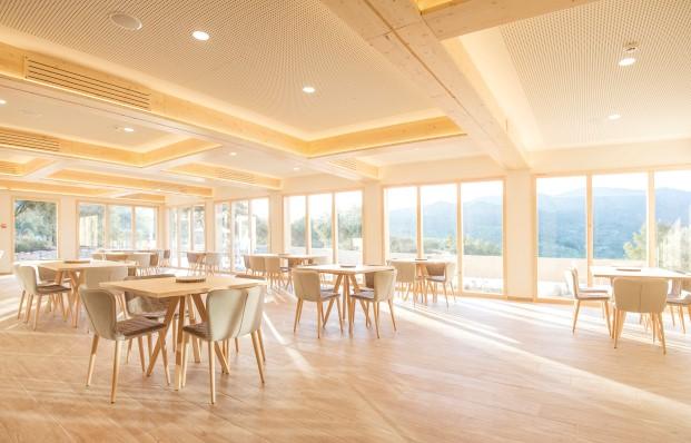 interior albergue de Mar de Fulles en Castellón Diariodesign