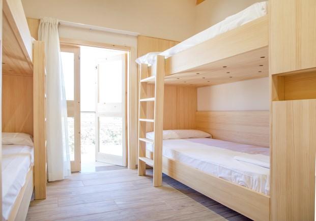 dormitorios albergue Mar de Fulles en Castellón Diario Design