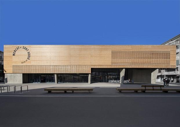 Mercat Municipal a Sant Adrià de Besòs diariodesign 1