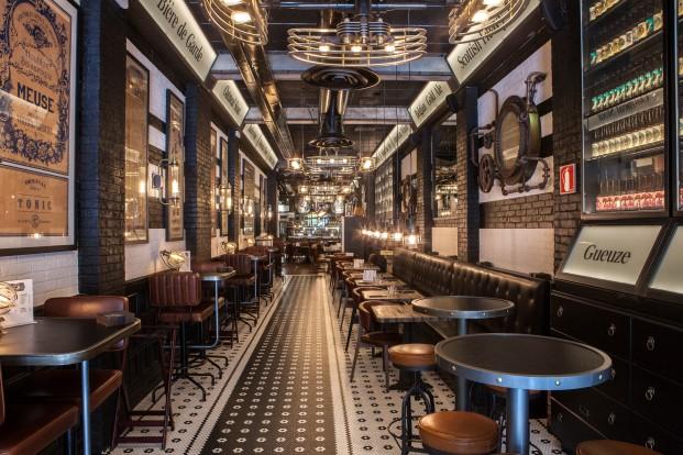interior beerxample naparbeer en barcelona diariodesign