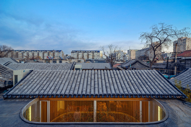 tejados de Tea House in Hutong pekin Arch Studio diariodesign