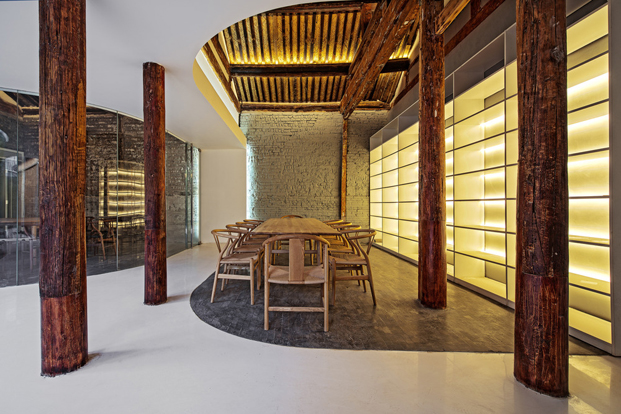Tea House in Hutong pekin Arch Studio diariodesign