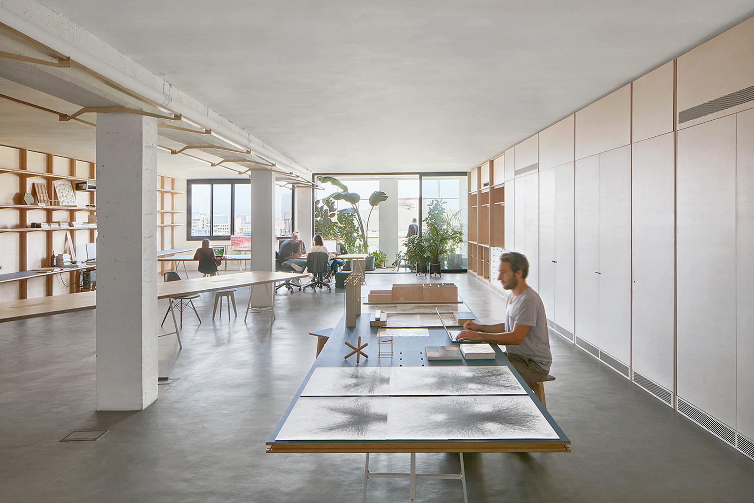 Co working de los arquitectos appareil en el distrito 22 - Trabajo arquitecto barcelona ...