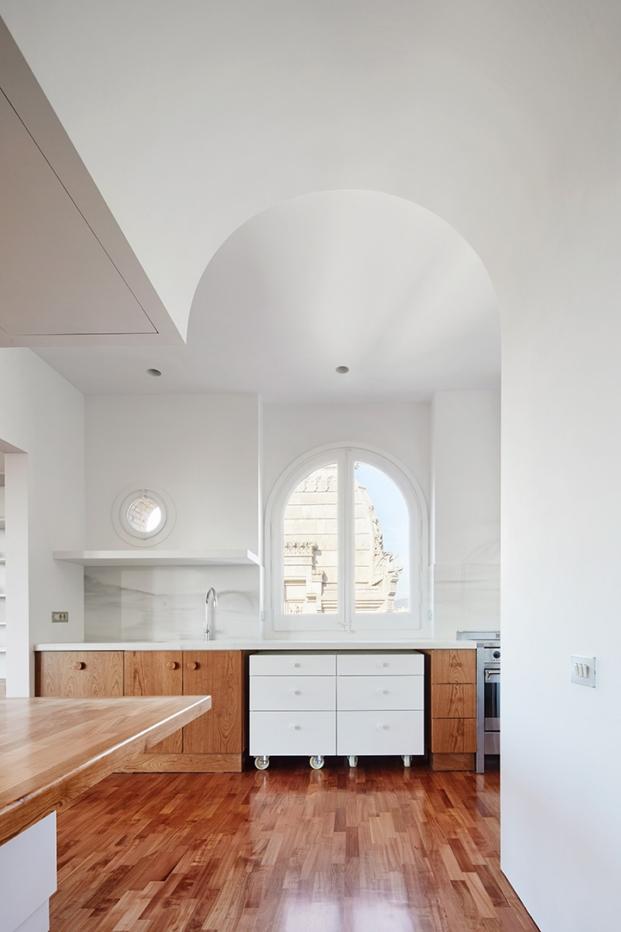 cocina reformada de arquitectura g diariodesign