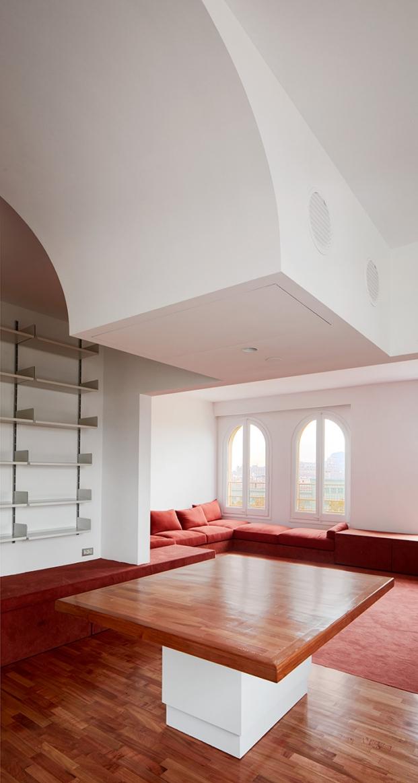 reforma de piso en barcelona por el estudio arquitectura g diariodesign