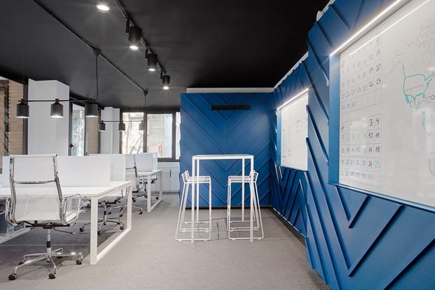 zona de trabajo oficinas nexolub en barcelona diariodesign