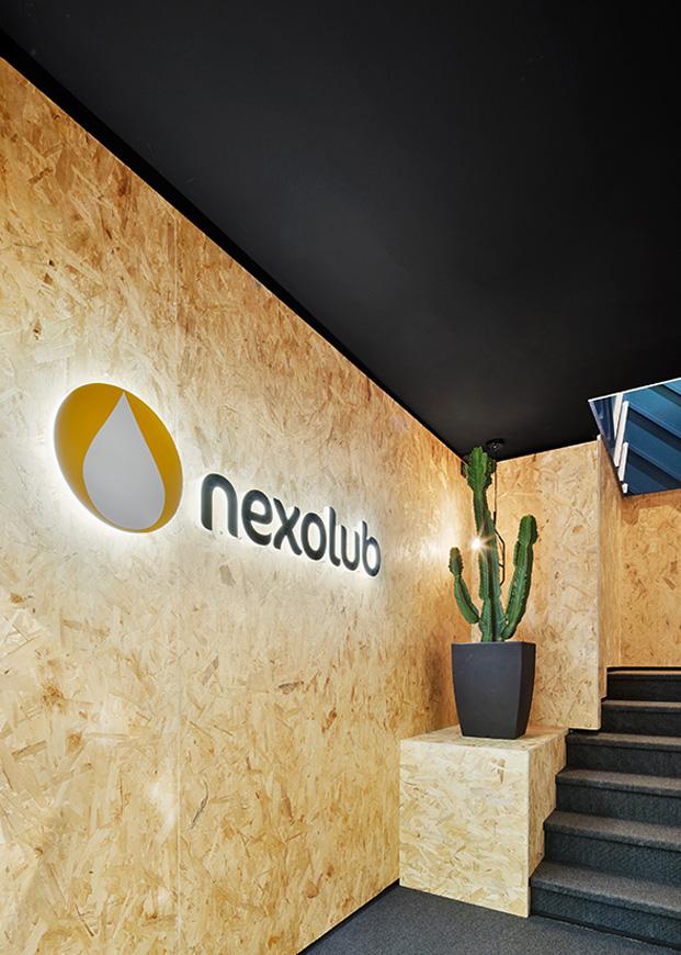 entrada logotipo nexolub diariodesign