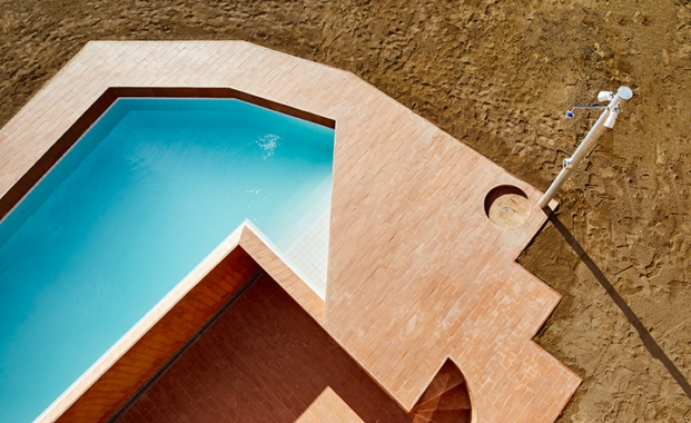 detalle piscina de can migris barcelona arquitectura g diariodesign