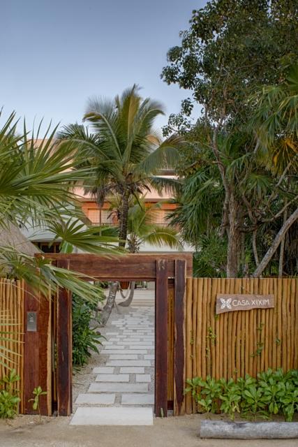 Casa xixim para so sostenible en tulum for Vegetacion ornamental