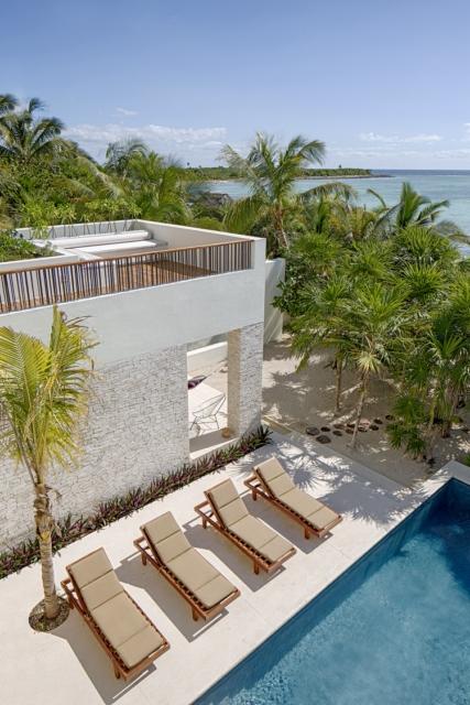 piscina de casa xixim tulum mexico specht architects diariodesign