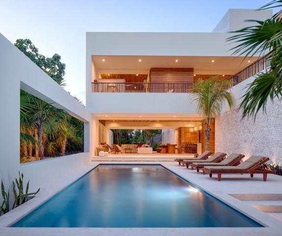 piscina casa xixim en tulum mexico de specht architects en diariodesign