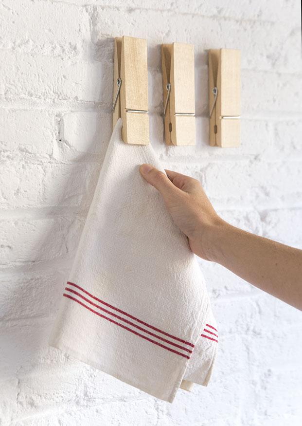 colgador pinzas cocina estilo nórdico en diariodesign