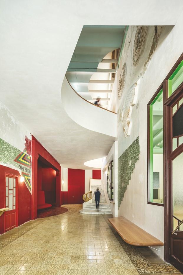interior sala beckett ganadores  livingplaces diariodesign