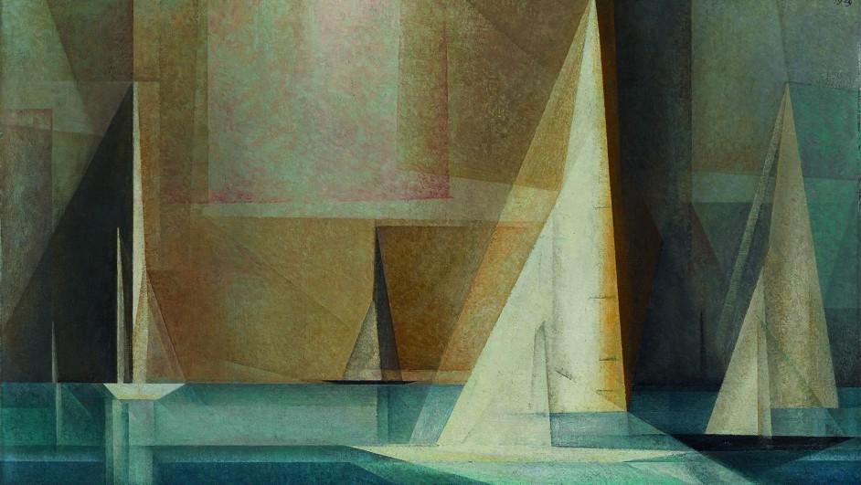Datierung: 1929Material/Technik: Gem‰lde / ÷l auf LeinwandBildmafl: 72,4 x 46,3 cmInventar-Nr.: 2778, Artist: Lyonel Feininger