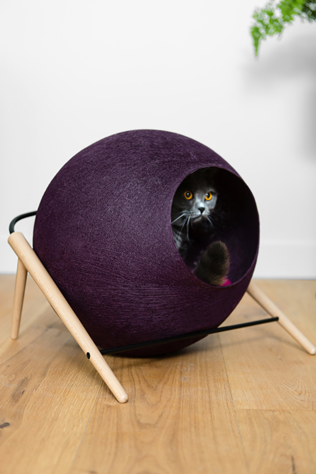 meyou paris la ball casas para gatos diariodesign