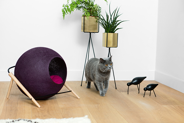meyou paris la ball granate casas para gatos diariodesign