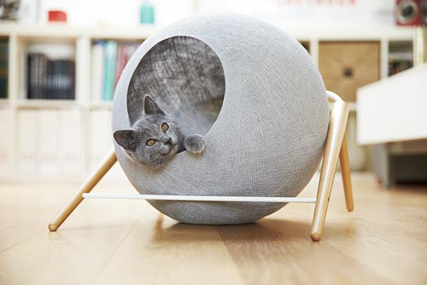 meyou paris le ball en gris casas para gatos en diariodesign