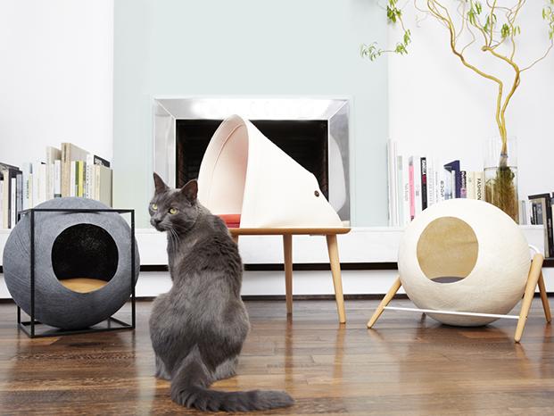 meyou paris casas para gatos blanco y negro diariodesign