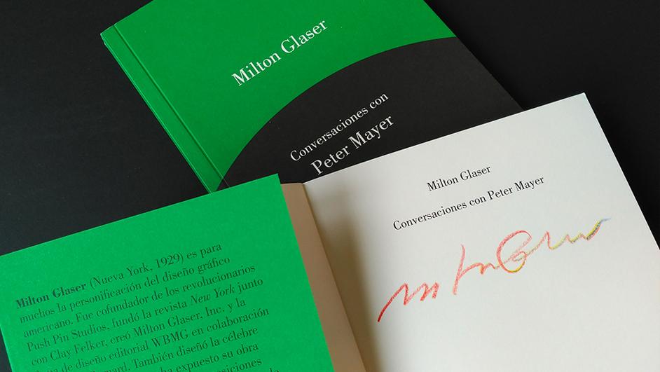 libro de milton glaser conversaciones de gustavo gili diariodesign