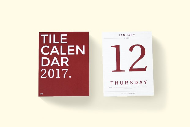 octagon title calendario diariodesign