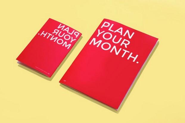 plan your month de octagon diariodesign