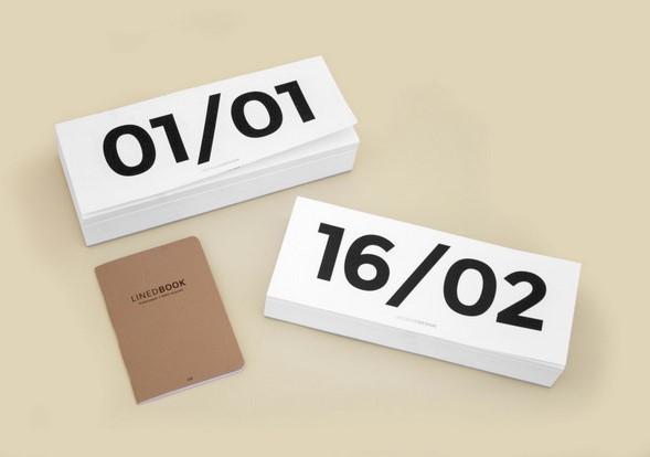 Block Calendar de Octagon en diariodesign