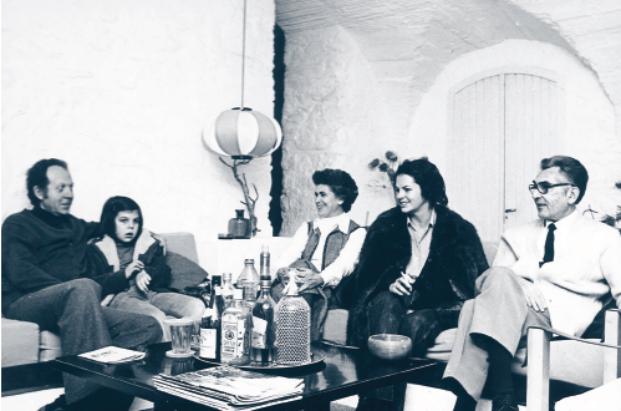 Coderch con la familia Güell diariodesign