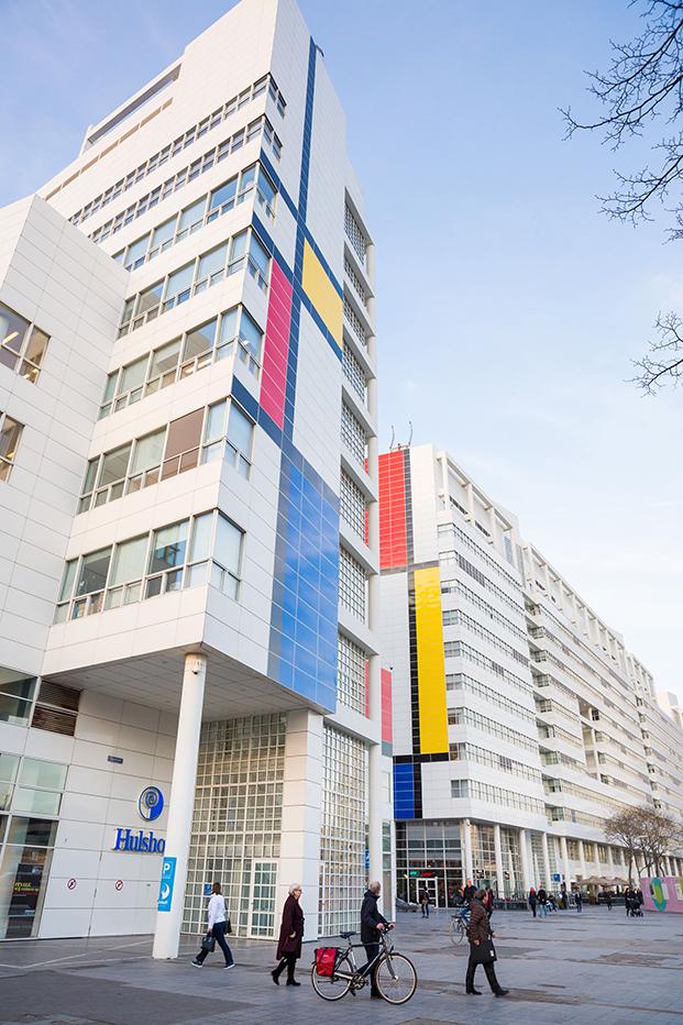 fachada edificio City Hall en la Haya