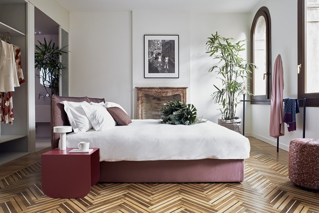 habitacion Casa Flora hotel concept store en venecia