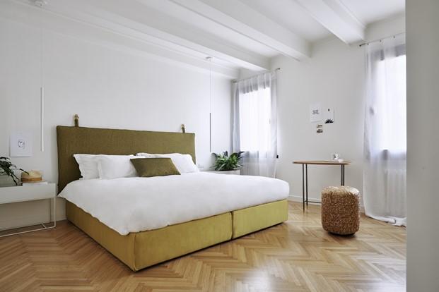 habitacion  hotel Casa flora concept store en venecia