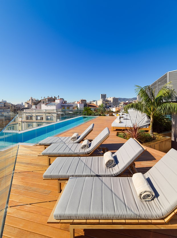 Mood terraza en The One Hotel