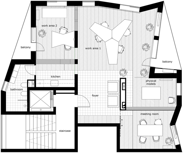 plano Another Studio oficinas bulgaria diariodesign