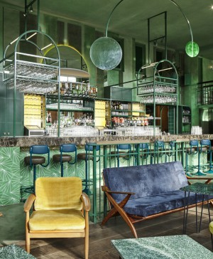 Bar Botanique en Amsterdam Studio Modijefsky diariodesign