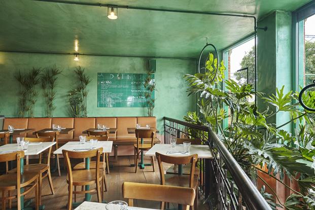 restaurante botanique un vergel de Studio Modijefsky en amsterdam diariodesign