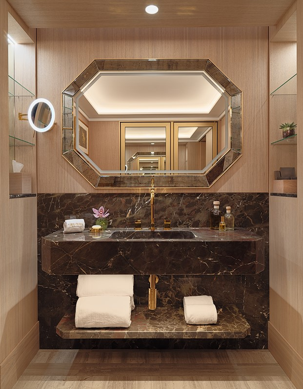 baño en The One Hotel en Barcelona