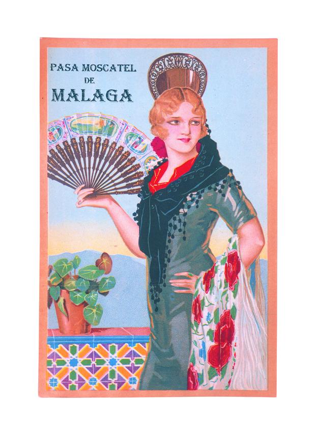 PASA MOSCATEL DE MÁLAGA. [1930]. Málaga.