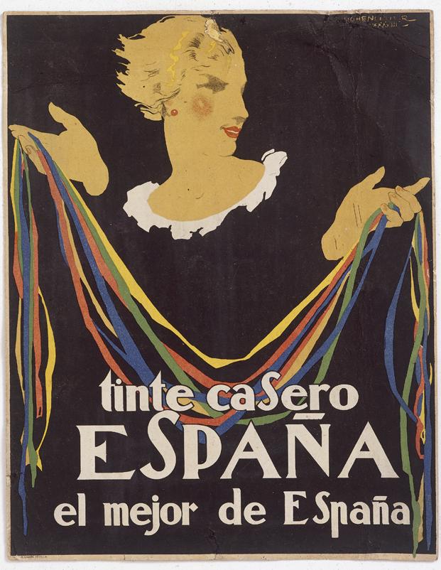 TINTES DE ESPAÑA. Autor: Hohenleiter. 1938.