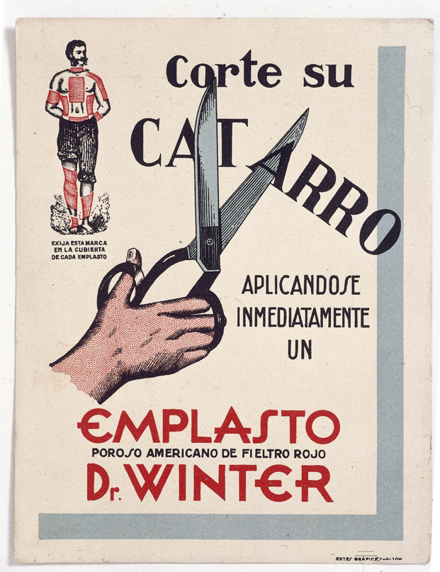 EMPLASTOS DR. WINTER. [1910].