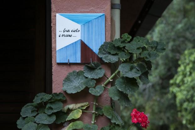 detalle ceramica de Casa fra cielo e mare toscana diariodesign