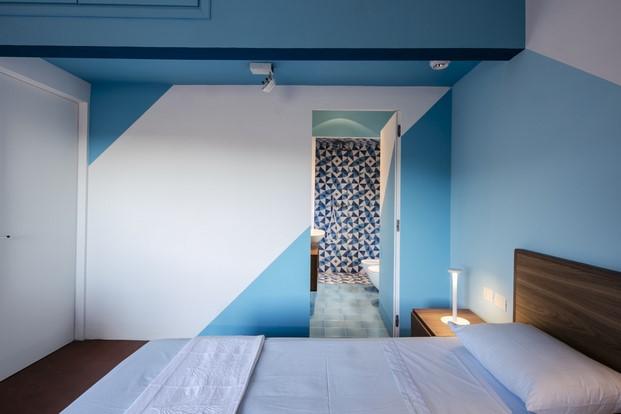 dormitorio Casa fra cielo e mare toscana diariodesign
