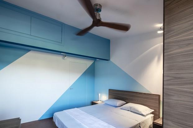 dormitorio Casa en la toscana