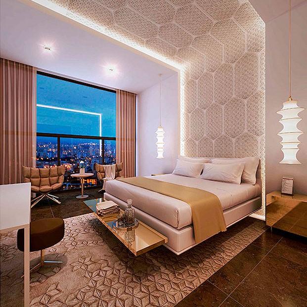 Intercidec una habitaci n de hotel por for Hoteles diseno berlin