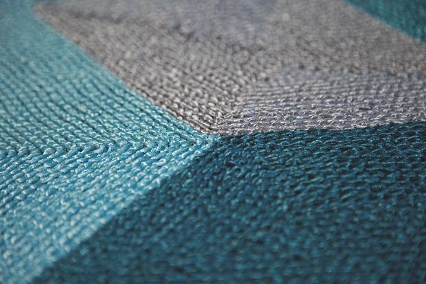 Detalle alfombra HEXAGONE novedades roche Bobois2017 diariodesign